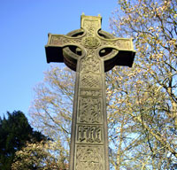 Celtic Cross in Yorkshire